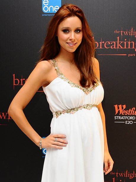 Una Healy at the premiere of Breaking Dawn Part II