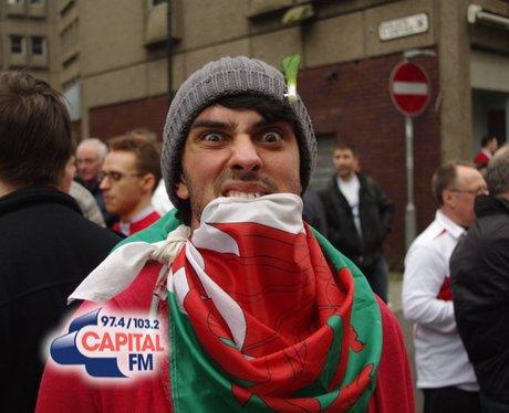 Wales v England - Westgate Street