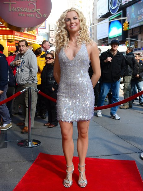 Britney Spears New Waxwork 2013