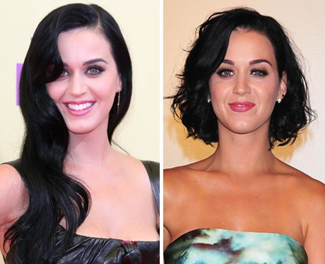 Katy perry with Long or Short hair