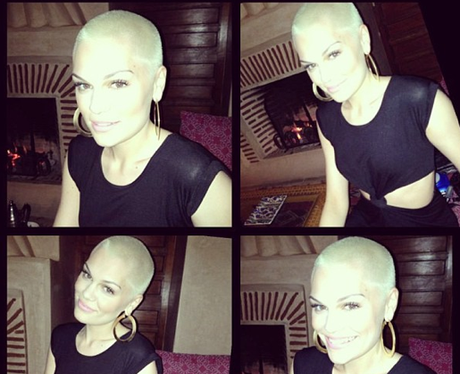Jessie J with blonde hair