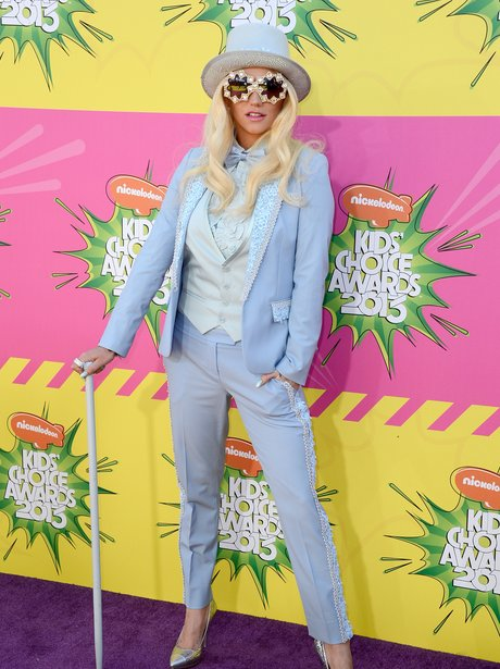 Ke$ha at the Kids' Choice Awards 2013