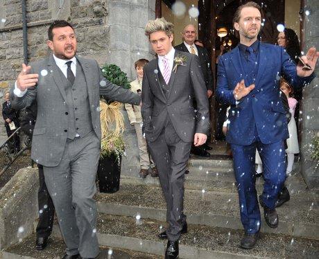 Niall Horan at his brothers wedding