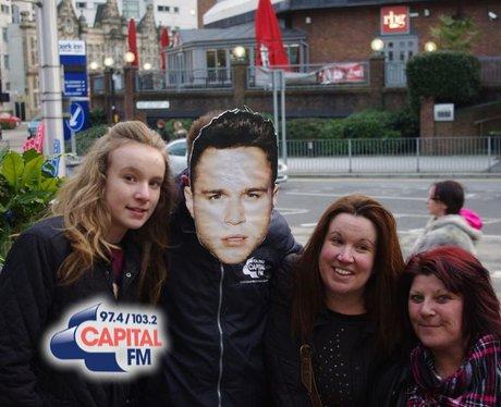 Olly Murs fans in Cardiff