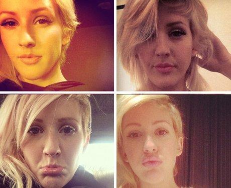 Ellie Goulding Selfies