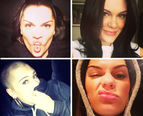 Jessie J's selfies collection