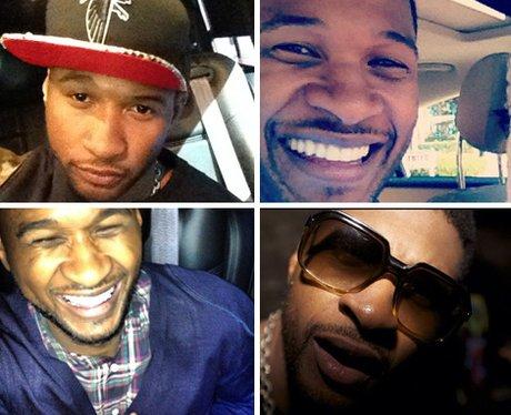 Usher Selfies