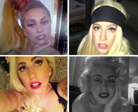 Lady Gaga's selfies collection