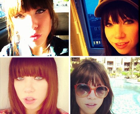 Carly Rae Jepsen Selfies
