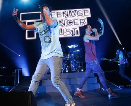 Rizzle Kicks performing on stage
