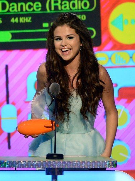 Selena Gomez at the Kids' Choice Awards 2013