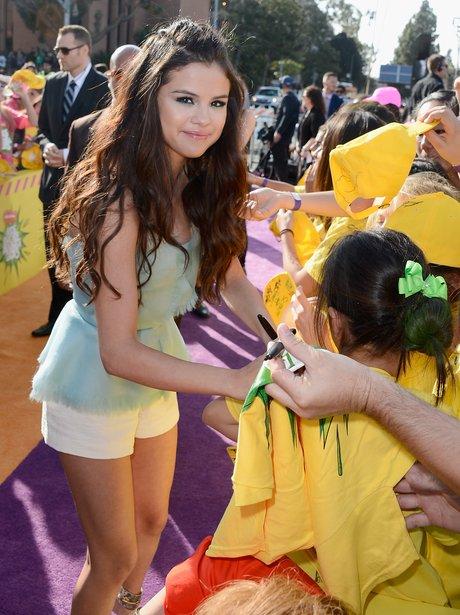 Selena Gomez at the Kids Choice Awards 2013