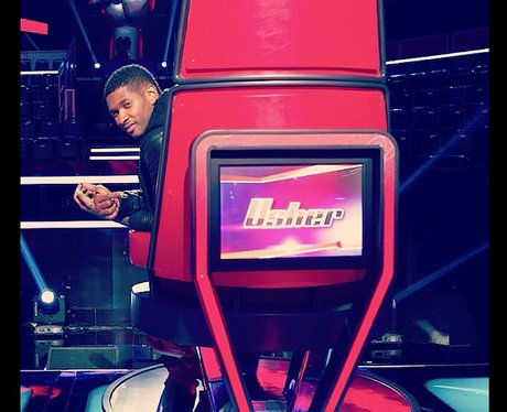Usher on The Voice US launch