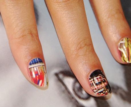 Beyonce's nails