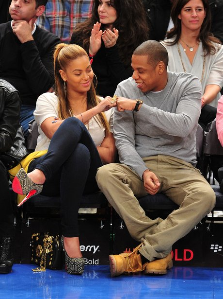 Beyonce and Jay-Z at Madison Square Garden