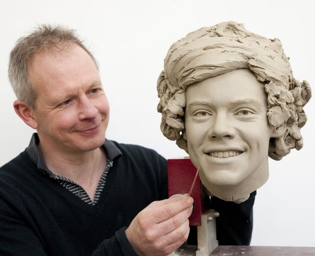 One Direction's Harry Styles as a waxwork model