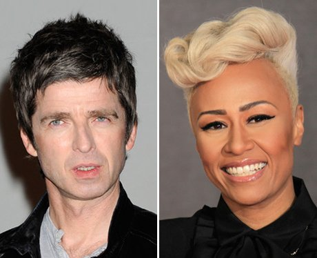 Noel Gallagher and Emeli Sande