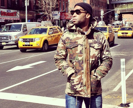 Tinie Tempah enjoys some time in New York City