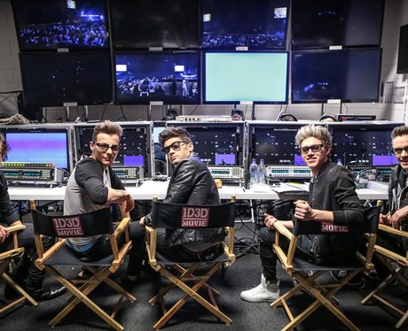 One Direction promoting their new 3Dmovie