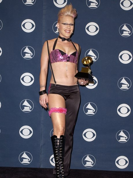 Pink Grammy Awards 2002