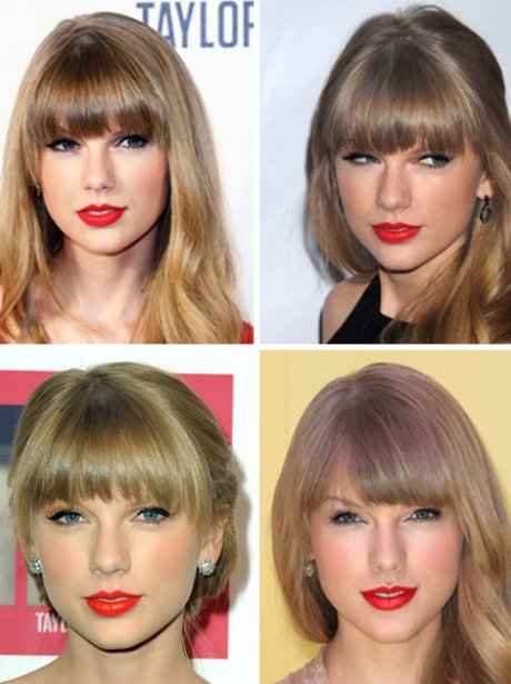 Taylor Swift - red lipstick