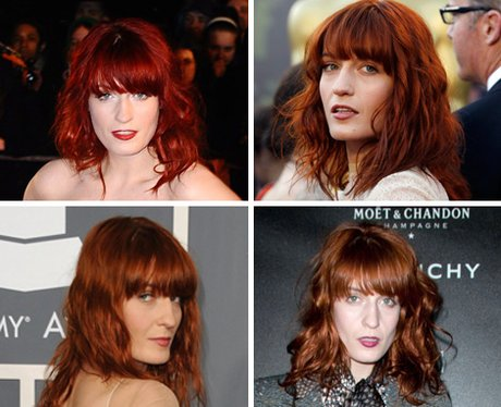 Florence + The Machine - the red hair