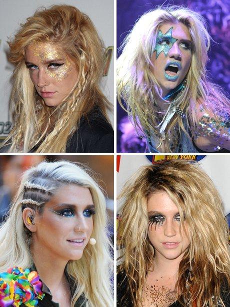 Ke$ha - Glitter (make-up)
