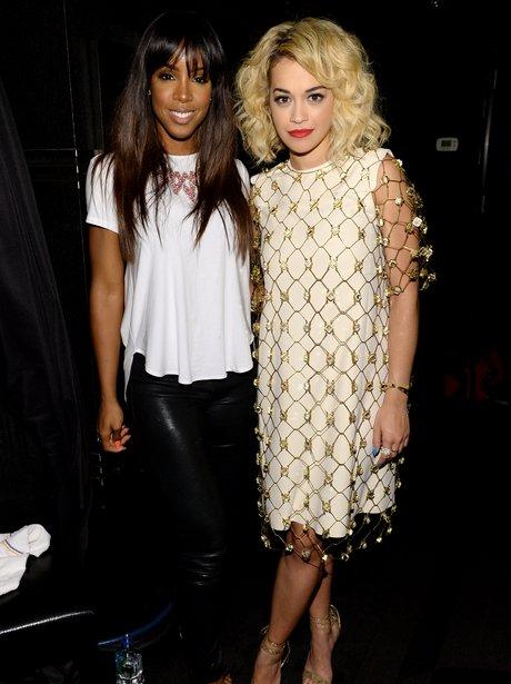 Rita Ora and Kelly Rowland