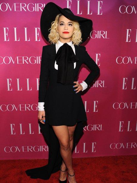 Rita Ora attends the '4th Annual ELLE Women in Mus