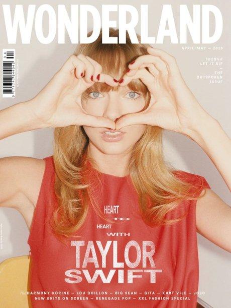 Taylor Swift Wonderland Magazine 2013