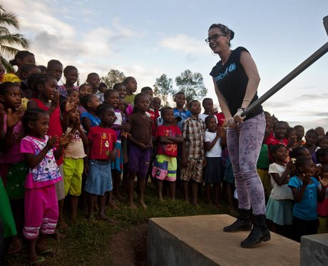 Katy Perry in Madagascar for UNICEF