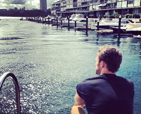 Lawson's Andy Brown in Australia