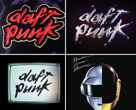Daft Punk Album covers
