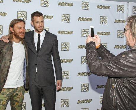 David Guetta and Calvin Harris at the ASCAP awards