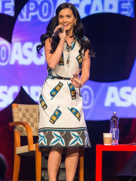 Katy Perry on stage during the 2013 ASCAP