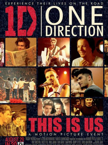 One Direction 'This Is Us' Poster