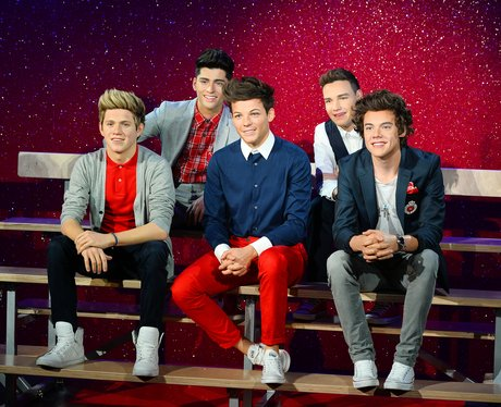 One Direction waxworks 2013