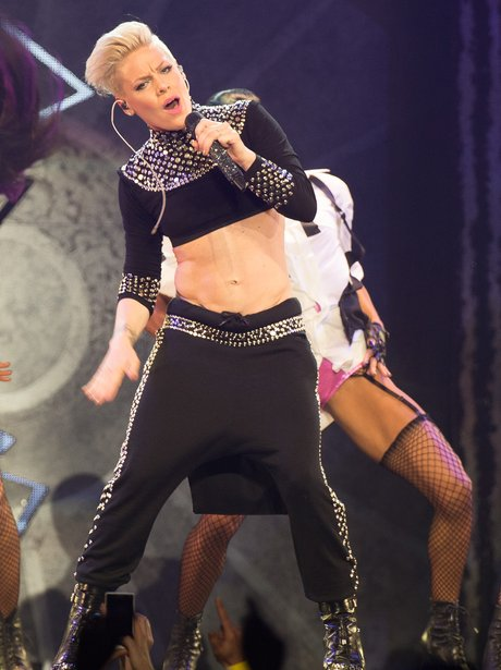Pink performs on her truth about love tour