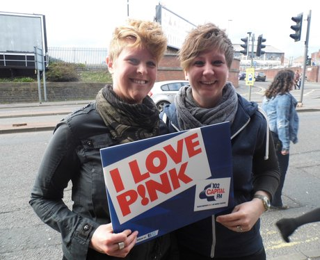 P!nk at Manchester Areana