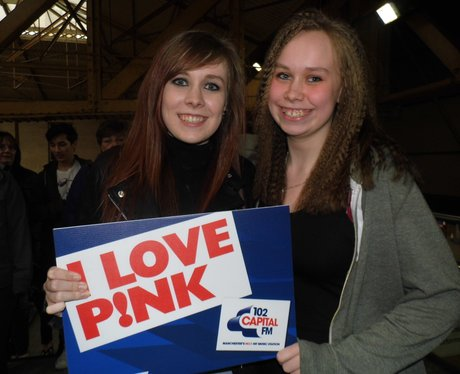 P!nk at Manchester Arena!