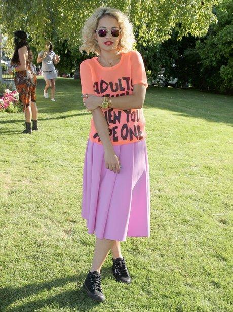 Rita Ora attends Coachela 2013