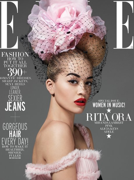 Rita Ora on the 2013 cover for ELLE