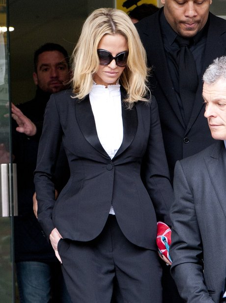 Sarah Harding leaving court