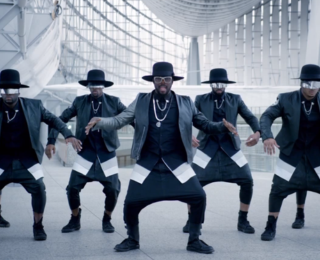 Will.i.am in the '#ThatPower' music video