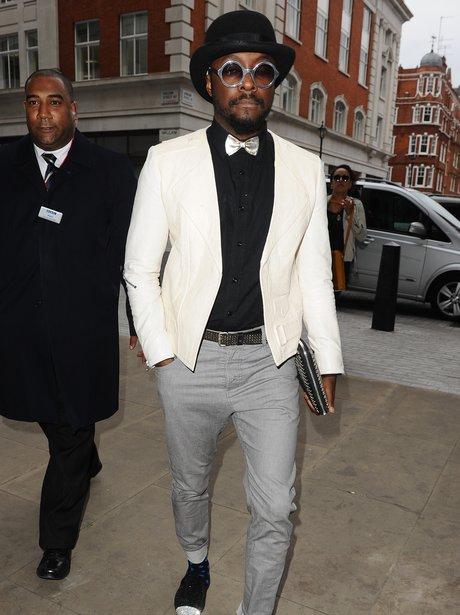 Will.i.am pictured in London
