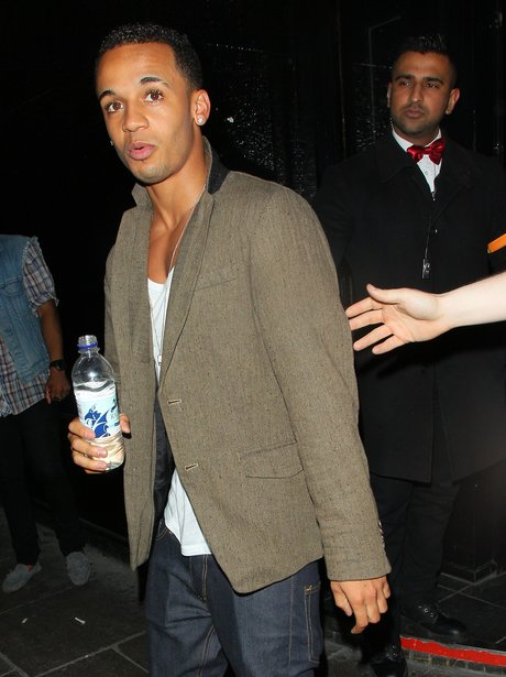 Aston Merrygold on a night out