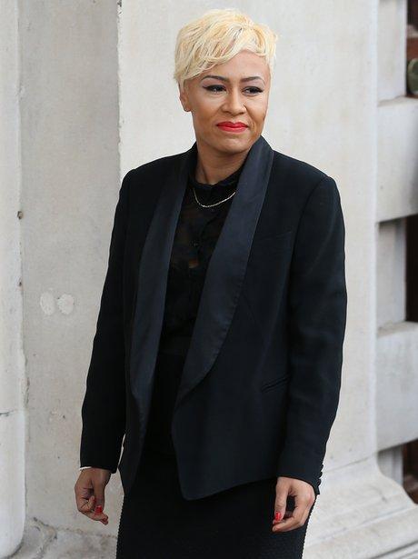 Emeli Sande attends memorial service