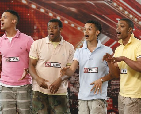 JLS auditioning on The X Factor