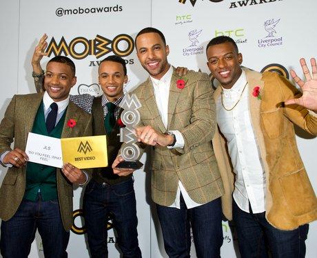 JLS MOBO Awards 2012