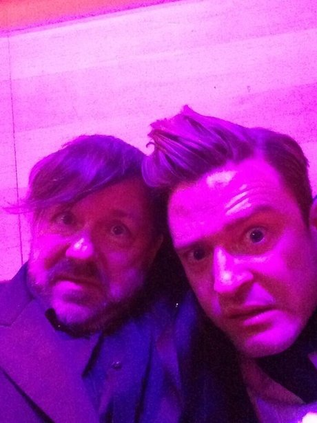 justin timberlake and ricky gervais